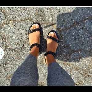3eed340dd4e9 Givenchy Shoes - Givenchy Chain-Link Jelly Sandals